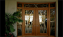Stained Glass Doors - Architectural Art Glass in South Carolina